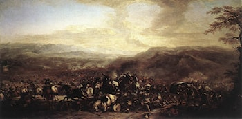 The Battle of Mongiovino by Jacques Courtois