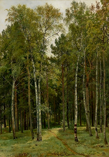 At the Dacha by Ivan Shishkin