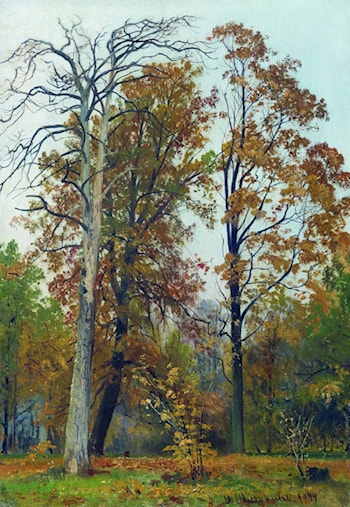 Autumn by Ivan Shishkin