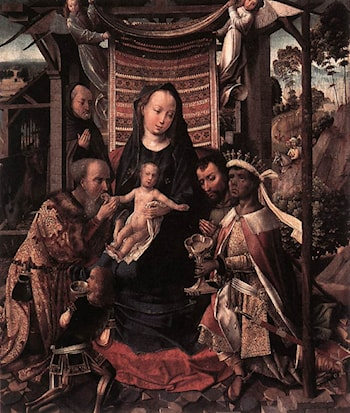 The Adoration of the Magi by Colijn de Coter
