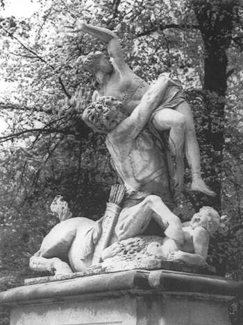 Nessus and Deianira by Antonio Corradini