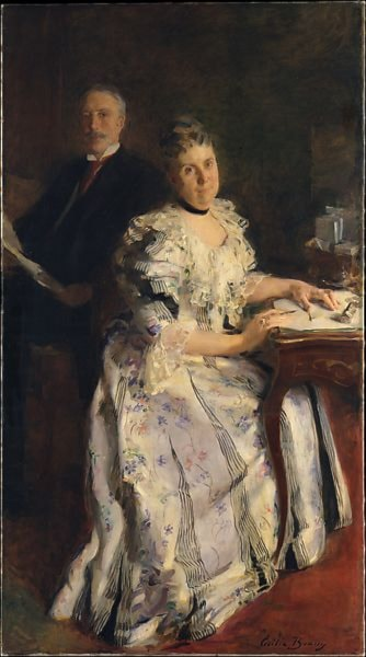 Mr. and Mrs. Anson Phelps Stokes by Cecilia Beaux