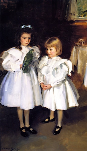 Gertrude and Elizabeth Henry by Cecilia Beaux