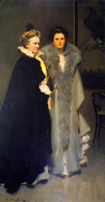 Mother and Daughter by Cecilia Beaux