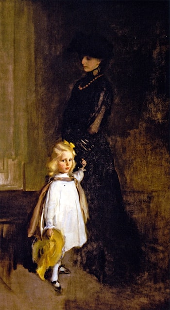 Mrs. Alexander Sedgwick and Daughter Christina by Cecilia Beaux