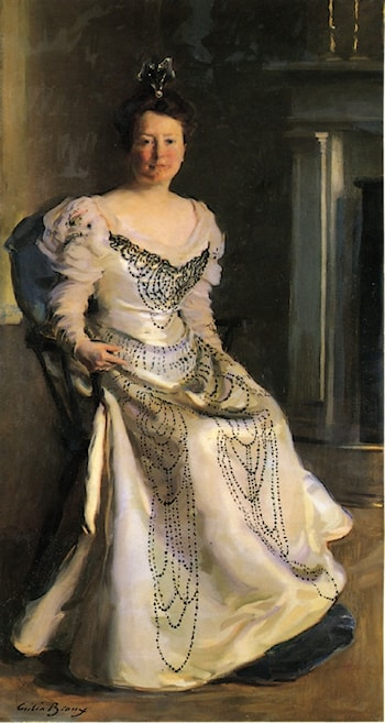 Mrs. Robert Abbe by Cecilia Beaux