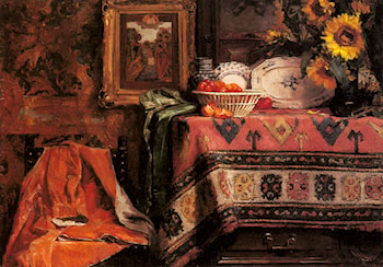 An Interior by Marie De Bievre