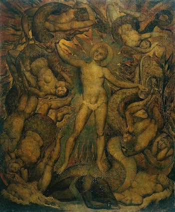 The Spiritual Form of Nelson Guiding Leviathan by William Blake