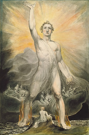 Angel of the Revelation by William Blake