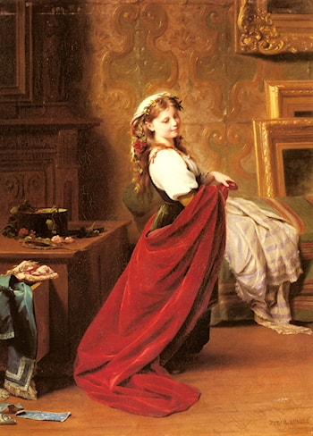 Dressing Up by Fritz Zuber-Buhler