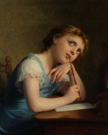 Distant Thoughts by Fritz Zuber-Buhler
