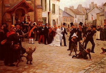 The Wedding by Gabriel Charles Deneux