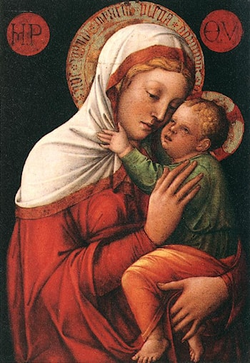 Madonna with Child by Jacopo Bellini