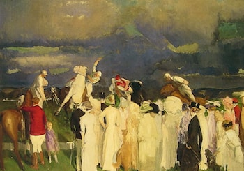 Polo Crowd by George Wesley Bellows