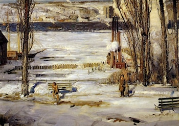 A Morning Snow by George Wesley Bellows
