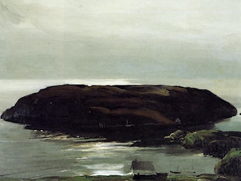 An Island in the Sea by George Wesley Bellows