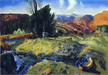 Autumn Brook by George Wesley Bellows