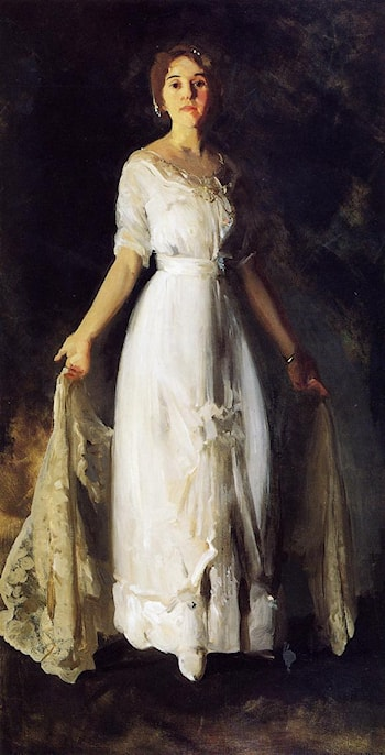 Mrs. Albert M. Miller by George Wesley Bellows