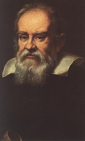 Portrait of Galileo Galilei by Justus Sustermans