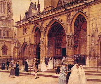 First Communion by Jean Beraud