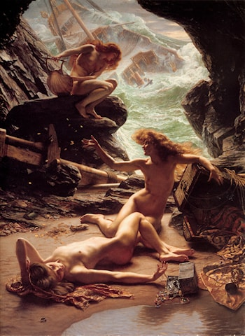 The Cave of the Storm Nymphs by Edward John Poynter