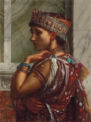 Zenobia Captive by Edward John Poynter