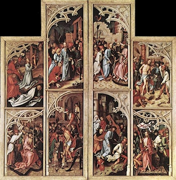 Wings of the Kaisheim Altarpiece by Hans Holbein
