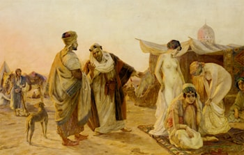 The Slave Market by Otto Pilny