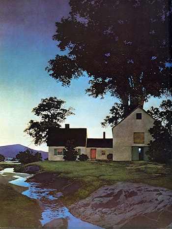Twilight by Maxfield Parrish