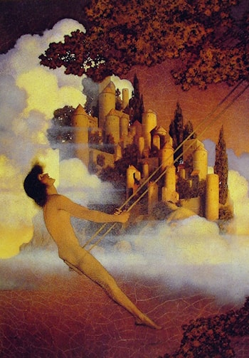 The Dinkey­Bird by Maxfield Parrish