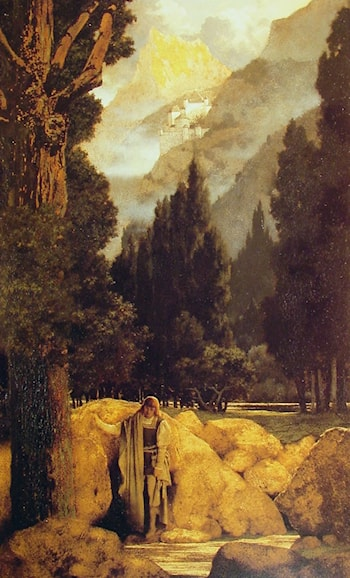 Poets' Dream by Maxfield Parrish