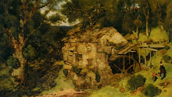 An Old Mill Near Haweswater by William James Blacklock