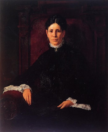Portrait of Frances Schillinger Hinkle by Frank Duveneck
