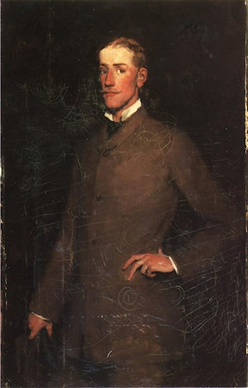 Portrait of Ralph Curtis by Frank Duveneck