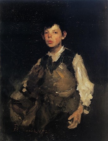 Whistling Boy by Frank Duveneck