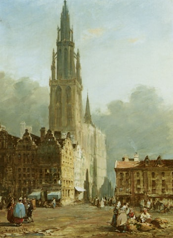 Antwerp by Edward Pritchett
