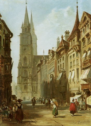 Nuremberg by Edward Pritchett