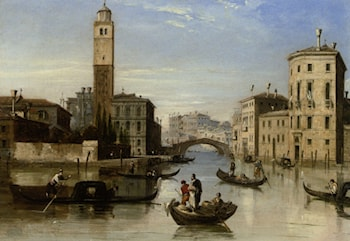 Entrance to the Cannaregio by Edward Pritchett