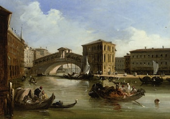 The Rialto Venice by Edward Pritchett