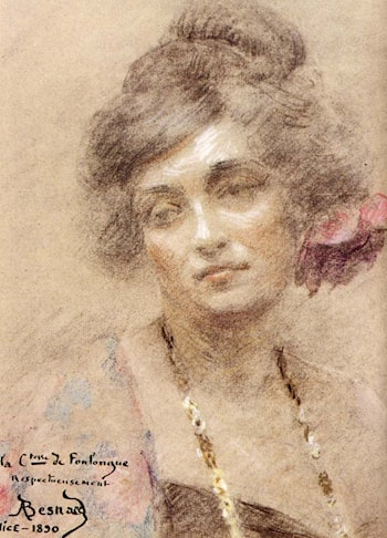 Portrait of a Woman by Paul Albert Besnard
