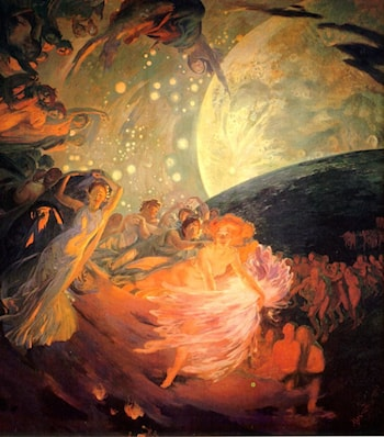 Decoration for a Ceiling by Paul Albert Besnard