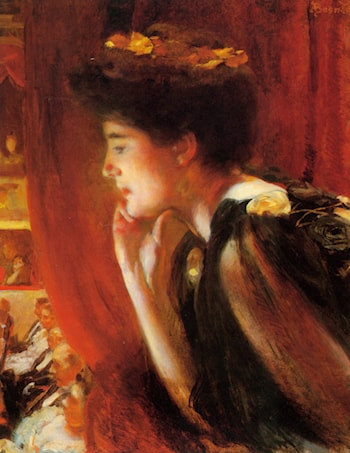 At The Opera by Paul Albert Besnard