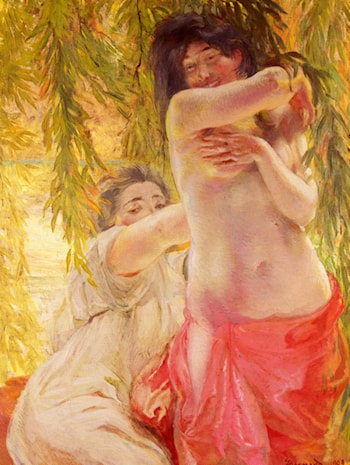 Sous Les Saules by Paul Albert Besnard