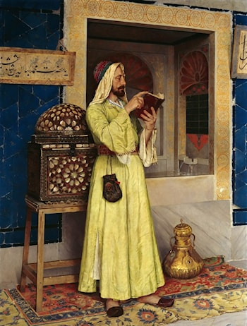 An Arab Reading by Osman Hamdy-Bey
