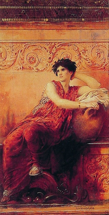 The Roman Pose by Edwin Howland Blashfield