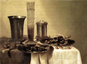 Breakfast Still­Life by Willem Claesz Heda
