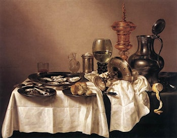 Still­life with Gilt Goblet by Willem Claesz Heda