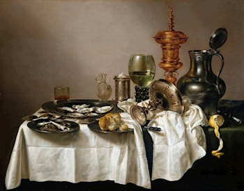 Still Life with a Gilt Goblet by Willem Claesz Heda