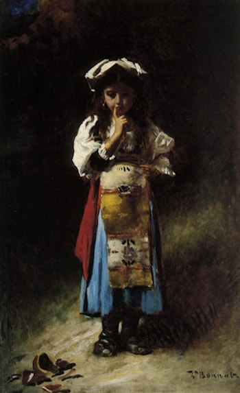 The Broken Jug by Leon Bonnat