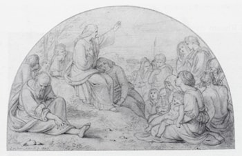 Sermon On The Mount by Joseph Noel Paton